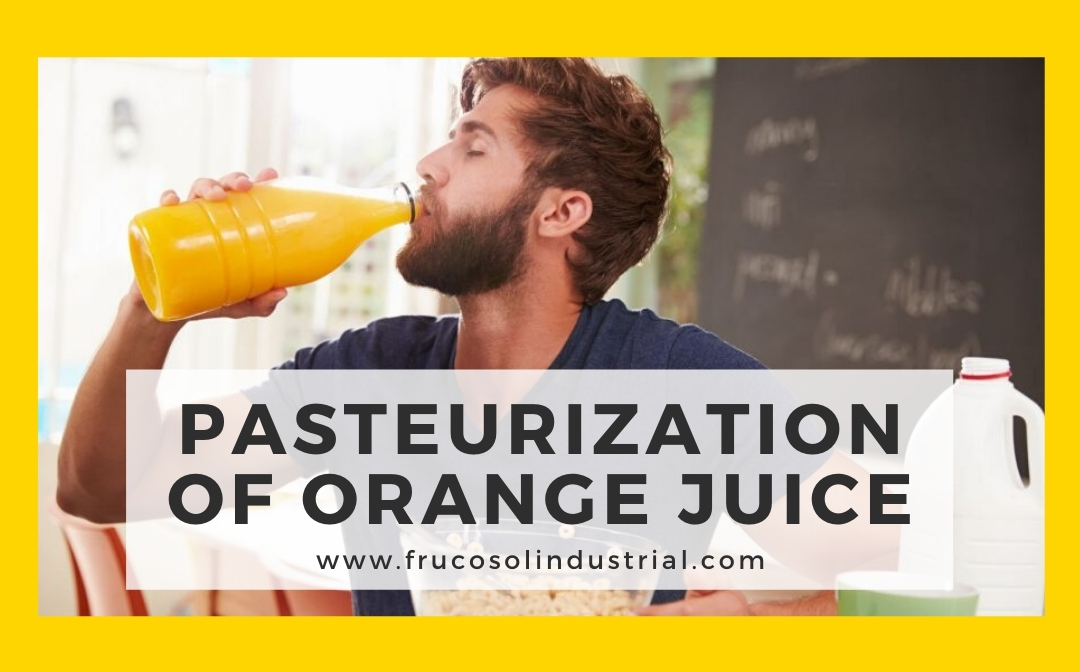 Pasteurization of orange juice