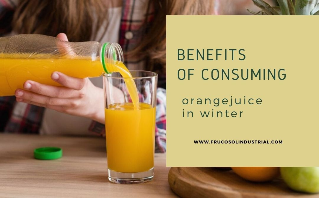 Benefits of consuming orange juice in winter.